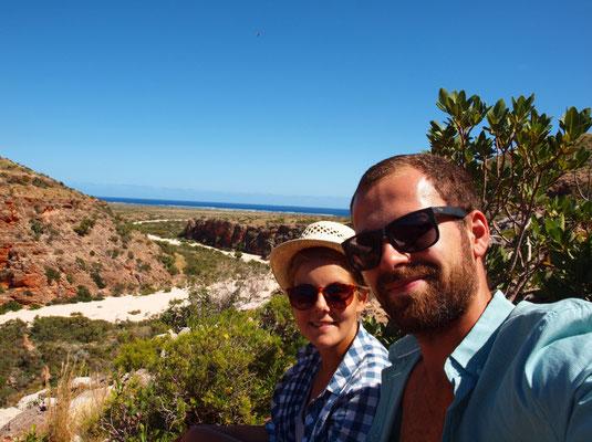 beim Wandern im Cape Range Nationalpark