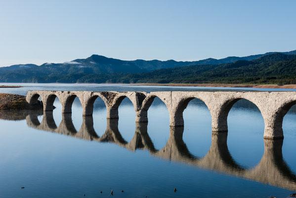 2019.9.4 北海道上士幌町 糠平湖 タウシュベツ川橋梁