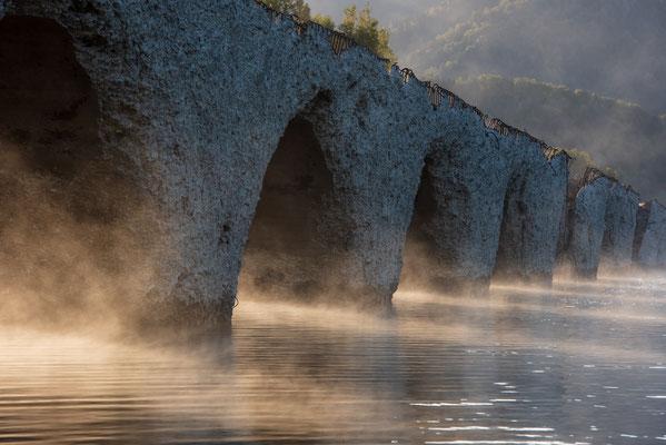 2019.9.26 北海道上士幌町 糠平湖 タウシュベツ川橋梁