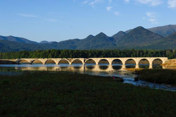 2019.9.10 北海道上士幌町 糠平湖 タウシュベツ川橋梁