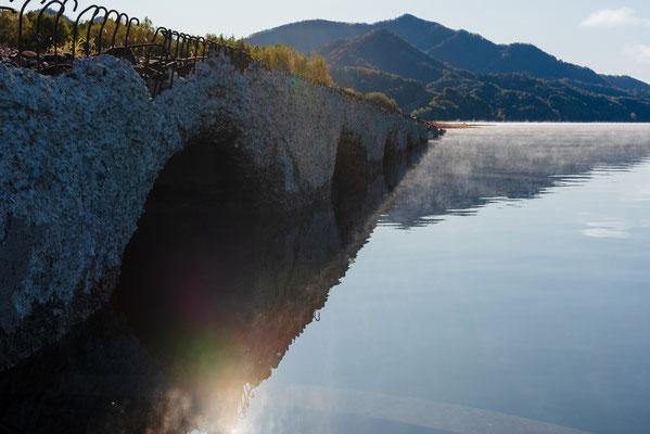 2019.10.6 北海道上士幌町 糠平湖 タウシュベツ川橋梁
