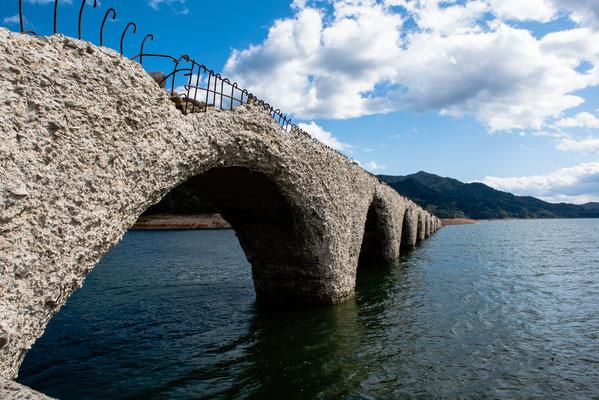 2019.9.25 北海道上士幌町 糠平湖 タウシュベツ川橋梁