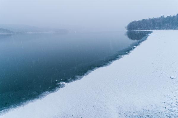 2019.12.2 北海道上士幌町糠平湖