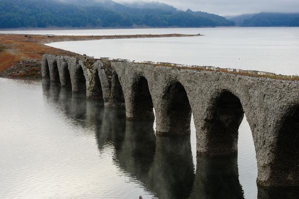 2019.9.14 北海道上士幌町 糠平湖 タウシュベツ川橋梁