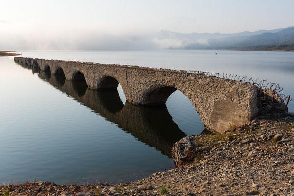 2019.10.2 北海道上士幌町 糠平湖 タウシュベツ川橋梁