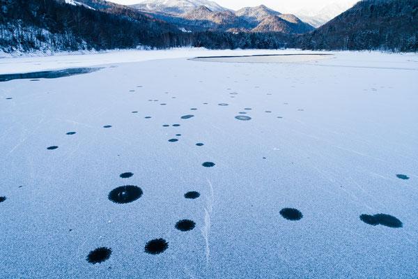 2019.12.15 北海道上士幌町 糠平湖