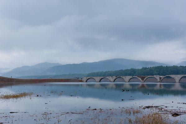 2019.9.15 北海道上士幌町 糠平湖 タウシュベツ川橋梁