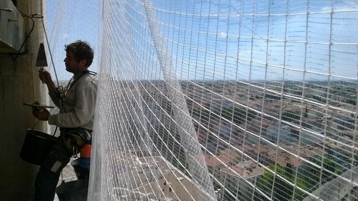 filet en hauteur 34 cordiste montpellier sur cordes