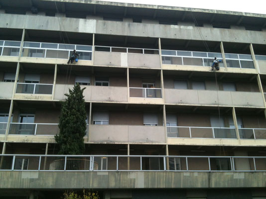 Hôpitaux nettoyage hauteur