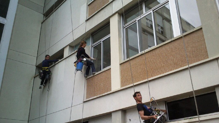 vitre cordiste