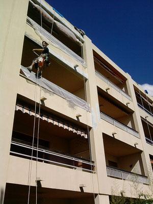 cordiste maçon acrobatique 34