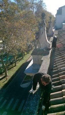 nettoyage chéneaux gouttière 34 musée fabre