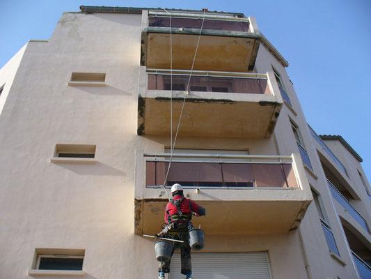 travaux acrobatique 34 accès ndifficile hauteur