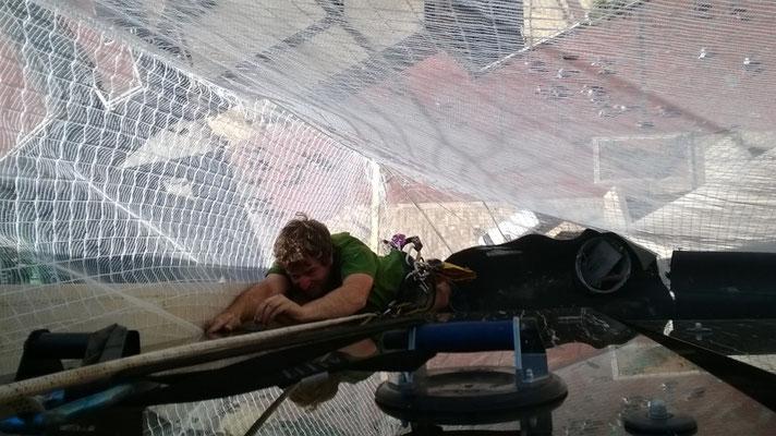 bâtiment accès difficile Hérault travaux sur corde