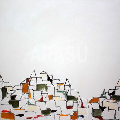 Acrylique sur toile, 90x90cm, 2011, 340€. (13)