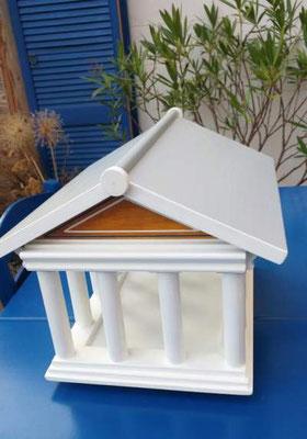 Vogelvoederhuis Acropolis kleine vogels vogelhuisje houten Grieks_3