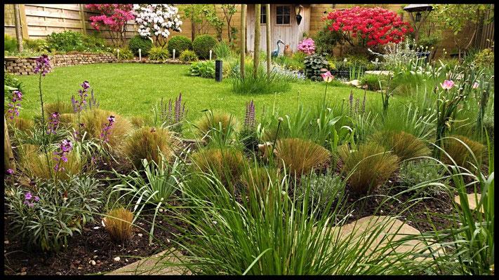 tuin van leukevogelhuisjes