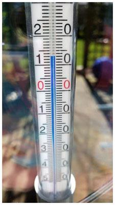 stijgende temperaturen op 18 maart 2018