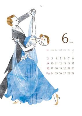 2013 カレンダー 6月