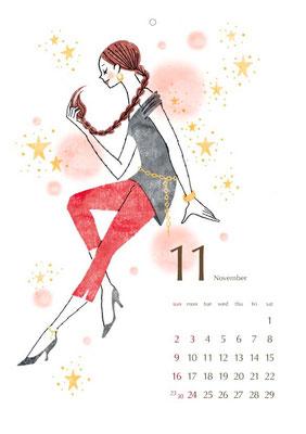 2013 カレンダー 11月