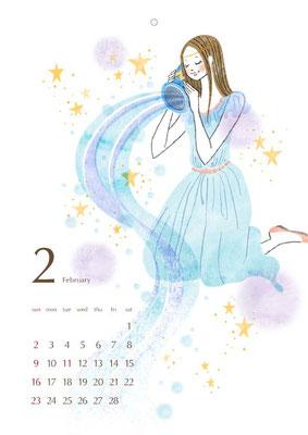 2013 カレンダー 2月