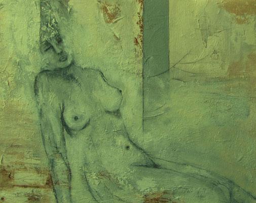 "Nr. 568 / "" Träume"" / 100 cm x 80 cm / Acryl-Mischtechnik auf Leinwand"