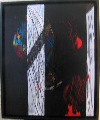 Nr. 391 / o.T. / 45 cm x 55 cm / Acryl auf Holzplatte