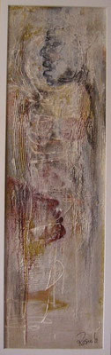 Nr. 546 / o.T. /  37 cm x 115 cm / Acryl auf Pappe mit Holzrahmen