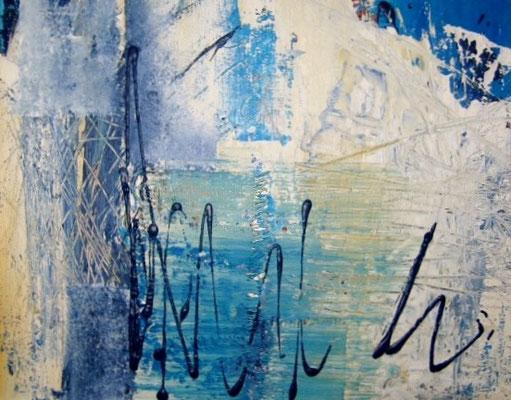 Nr. 111 / o.T. /  50 cm x 40 cm  / Acryl auf Leinwand