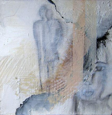 Nr. 437 /  50 cm x 50 cm / Acryl auf Leinwand