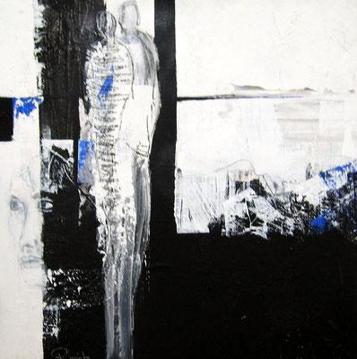 Nr. 337 / o.T. / 60 cm x 60 cm / Acryl auf Leinwand
