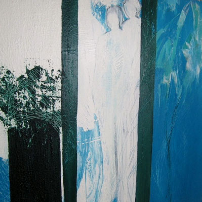 Nr. 263 / o.T. /  50 cm x 50 cm / Acryl auf Leinwand