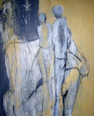 """Nr. 511 """"Pause"""" /  50 cm x 60 cm / Acryl auf Leinwand"""