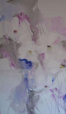 """Nr. 517  / """"Frühlingserwachen 2"""" / 60 cm x 80 cm / Acryl auf Leinwand"""