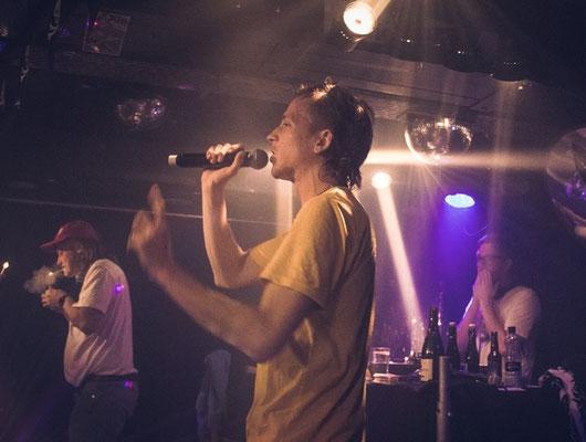 "Plattentaufe ""Ume"", Saimon Disko, December 2019"