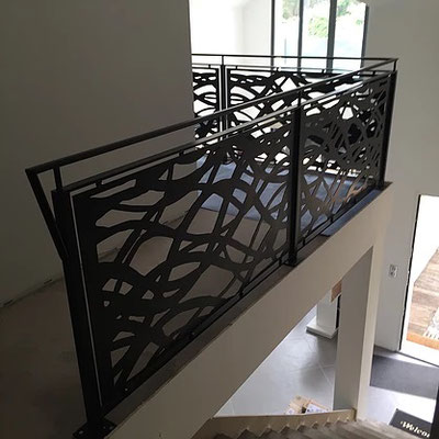 Barandales plasma reja - Barandales modernos para escaleras ...