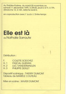 Distribution avec Colette Sodoyez, Pascal Guéran, Luc Vandermaelen et Philippe Derlet