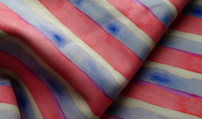 Batik-Leder