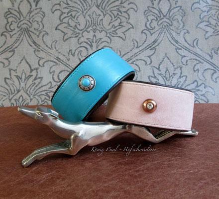 Aus Lederjacken und -taschen werden Halsbänder