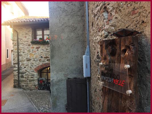 Atelier Macondo, Dorfkern von Canobbio