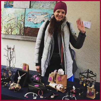 Triulala am Weihnachtsmarkt in Ponte Tresa