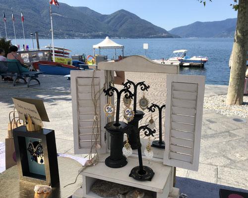 Markt mit Sicht auf den Lago Maggiore!