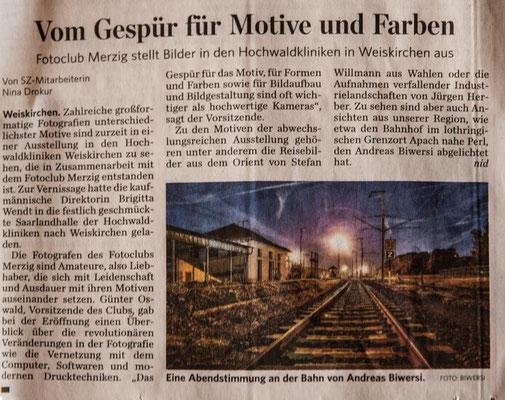 Ausstellung in Weiskirchen seit Sommer 2016