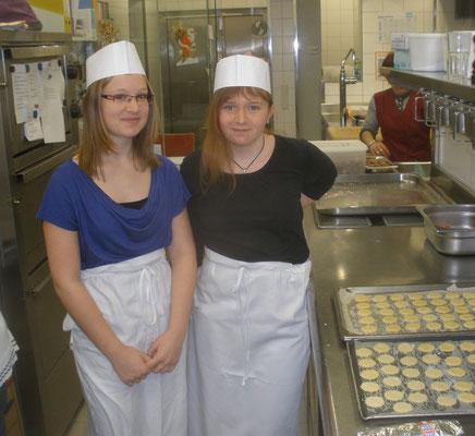 Lisa und Magdalena im K&K-Hotel in Geras