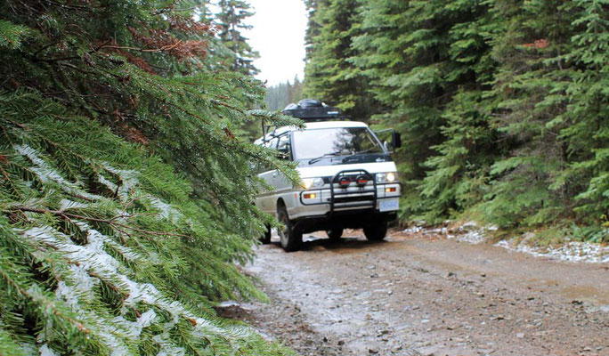 Yeti Off Road / taking Yeti offroad