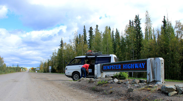 Dempster Highway Stop