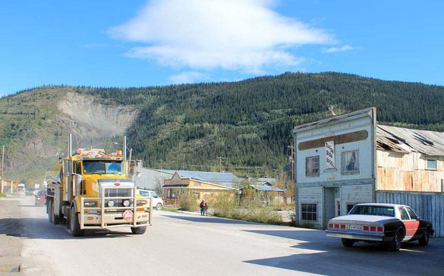 Straßenbild von Dawson City / street impression