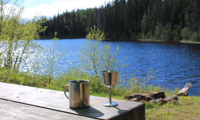 Impression at Goose Lake