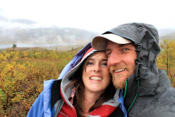wie sie lachen kann, wenn's regnet und sie nicht auf Berge klettern muss / how she's smiling over the rain, not having to climb mountains
