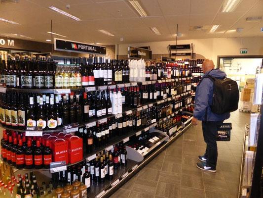 Alkoholladen in Kristiansund